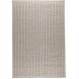 M.A.Trading Hand-woven Palmdale White New Zealand Wool Rug (3'x 5'4)