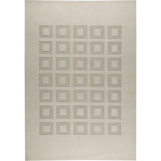 M.A.Trading Hand-knotted Marmara White/ M1 New Zealand Wool Rug (4'6x 6'6)
