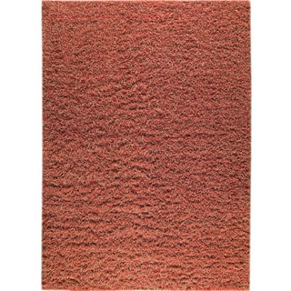 M.A.Trading Hand-knotted Tokyo Red/ Rust New Zealand Wool Rug (4'6x 6'6)