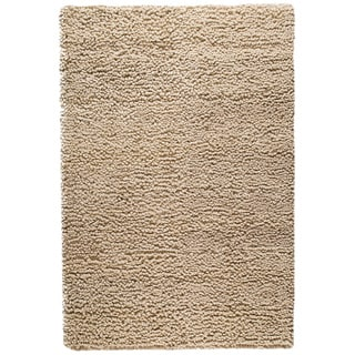 M.A.Trading Hand-woven Berber Natural New Zealand Wool Rug (4'6x 6'6)