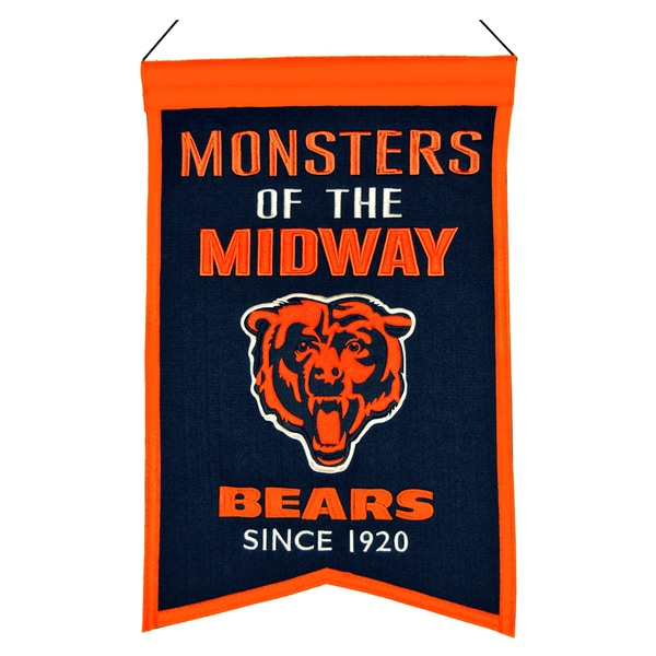 Winning Streak Chicago Bears Franchise Banner