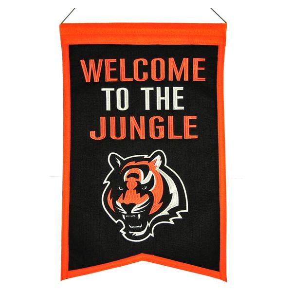 Winning Streak Cincinnati Bengals Franchise Banner