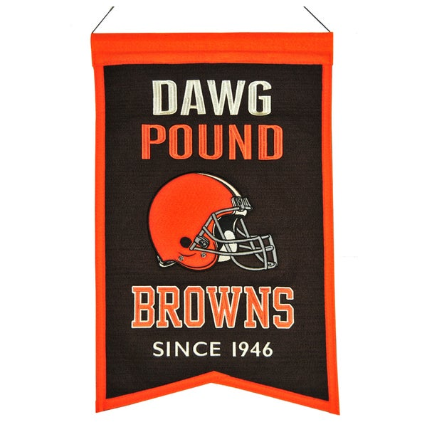 Winning Streak Cleveland Browns Franchise Banner
