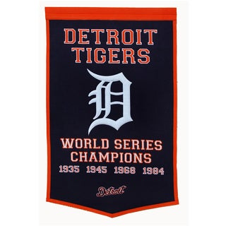 Winning Streak MLB Detroit Tigers Baseball Dynasty Banner