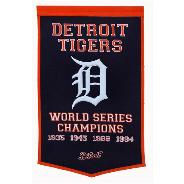 Winning Streak MLB Detroit Tigers Baseball Dynasty Banner