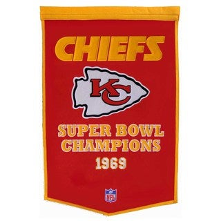 Winning Streak NFLKansas City Chiefs Football Dynasty Banner