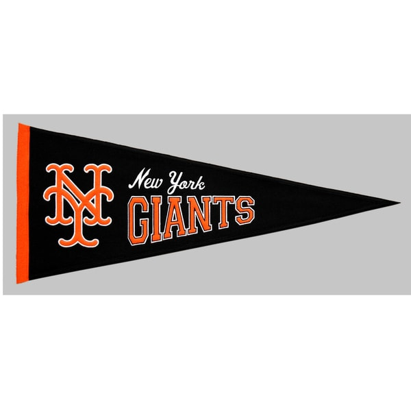 Winning Streak MLB New York Giants Cooperstown Wool Pennant