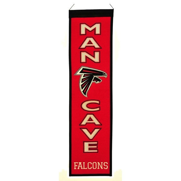Winning Streak NFL Atlanta Falcons Man Cave Embroidered Banner