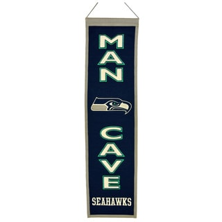 Winning Streak NFL Seattle Seahawks Man Cave Embroidered Banner