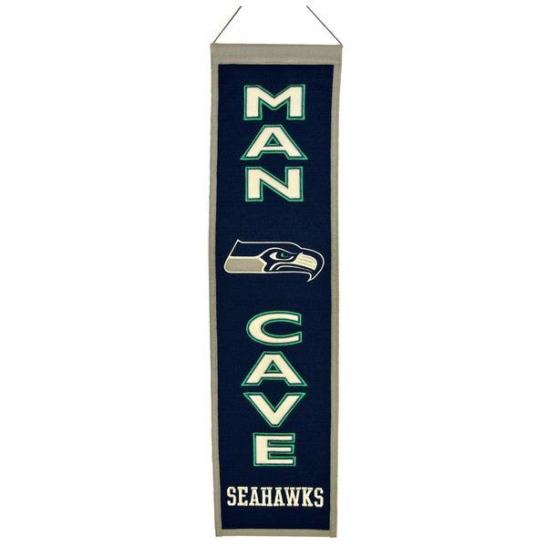 Winning Streak NFL Seattle Seahawks Man Cave Embroidered Banner