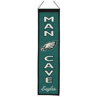 Winning Streak NFL Philadelphia Eagles Man Cave Embroidered Banner