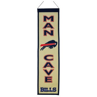 Winning Streak NFL Buffalo Bills Man Cave Embroidered Banner