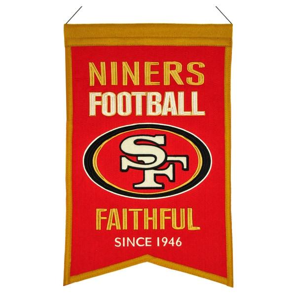 Winning Streak San Francisco 49ers Franchise Banner