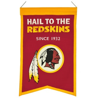 Winning Streak Washington Redskins Franchise Banner