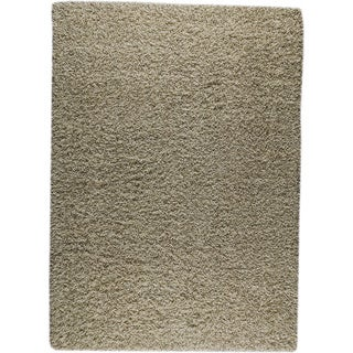 M.A.Trading Hand-woven London Mix Natural New Zealand Wool Rug (4'x 6')