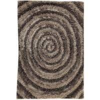 M.A.Trading Hand-tufted Landscape Grey Area Rug (5'2 x 7'6) (India)