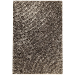 M.A.Trading Hand-tufted Tweed Grey Area Rug (5'2 x 7'6)