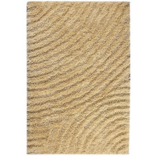 M.A.Trading Hand-tufted Tweed Vanilla Area Rug (5'2 x 7'6)