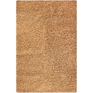 M.A.Trading Hand-woven Cosmo Beige Area Rug (5'2 x 7'6)
