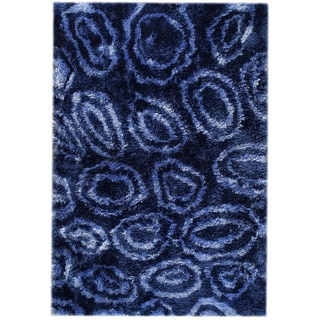 M.A.Trading Hand-tufted Island Blue Area Rug (7'10 x 9'10)