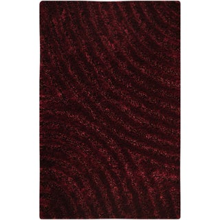 M.A.Trading Hand-tufted Tweed Mauve Area Rug