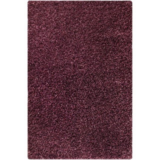 M.A.Trading Hand-woven Cosmo Purple Area Rug (7'10 x 9'10) (India)