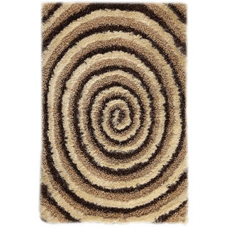 M.A.Trading Hand-tufted Landscape Beige/ Brown Area Rug (7'10 x 9'10)