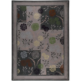 M.A.Trading Hand-tufted Toronto Grey New Zealand Wool Rug (8' x 10')