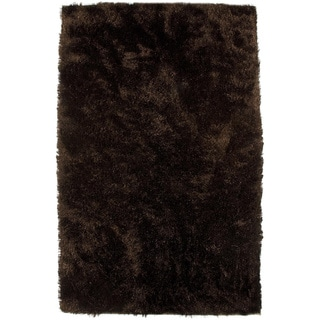 M.A.Trading Hand-woven Sunshine Brown New Zealand Wool Rug (8' x 10')