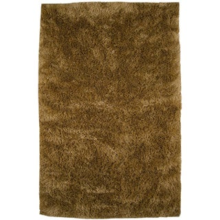 M.A.Trading Hand-woven Sunshine Gold Polyester Rug (8' x 10')