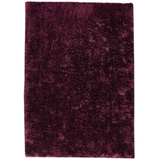M.A.Trading Hand-woven Sunshine Purple New Zealand Wool Rug (8' x 10')