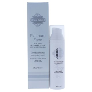 Fake Bake Platinum Face 2-ounce Anti-Aging Self Tan Lotion