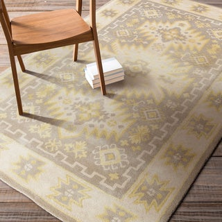 Hand-tufted Bette Southwestern Wool Rug (5' x 8')