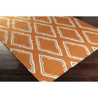 Hand-Woven Asa Reversible Wool Rug (5' x 8')
