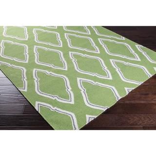 Hand-Woven Asa Reversible Wool Rug (8' x 11')