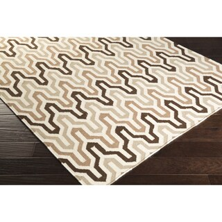 Hand-Woven Dennis Reversible Wool Area Rug (8' x 11')