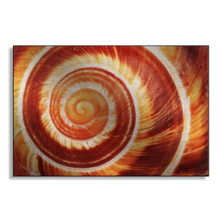 Gallery Direct Jonnysek's 'Fire Spiral' Metal Art