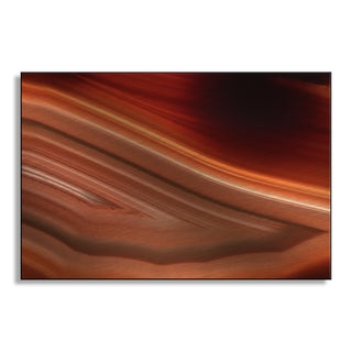 Gallery Direct Jonnysek's 'Red Glow' Metal Art