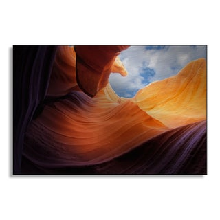 Gallery Direct Nikkossd's 'Antelope Canyon' Metal Art