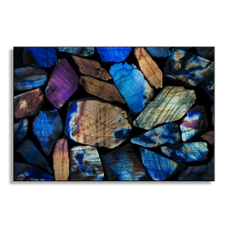 Gallery Direct Joannapalys's 'Labradorite' Metal Art