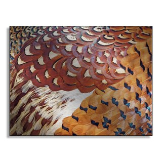 Gallery Direct Kalichka's 'Pheasant' Metal Art