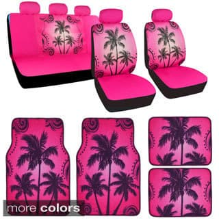 Quick View. Option 14388950. Option 14388951.  59.99. BDK Full Set Palm  Tree Car Seat Covers and Floor Mats 676293d18