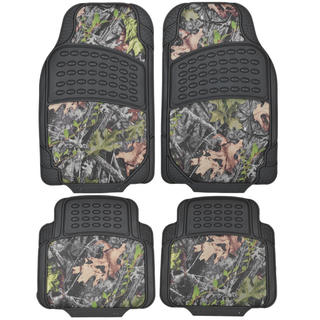 BDK 4-piece Heavy-duty All-weather Camouflage Floor Mats