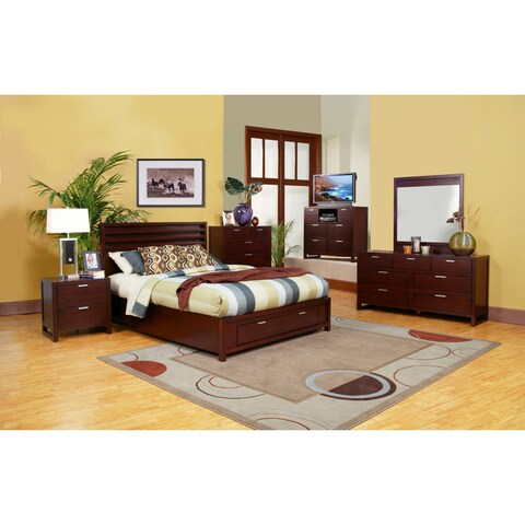 Camarillo 4-piece Storage Bedroom Set