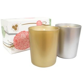 Qualitas USP Pharmaceutical White Beeswax Frankincense/ Myrrh Holiday Candle Set