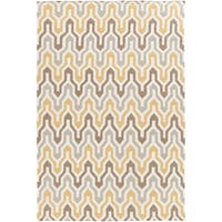 Hand-Woven Dennis Reversible Wool Area Rug