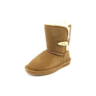Bearpaw Girl (Youth) 'Abigail Toddler' Regular Suede Boots