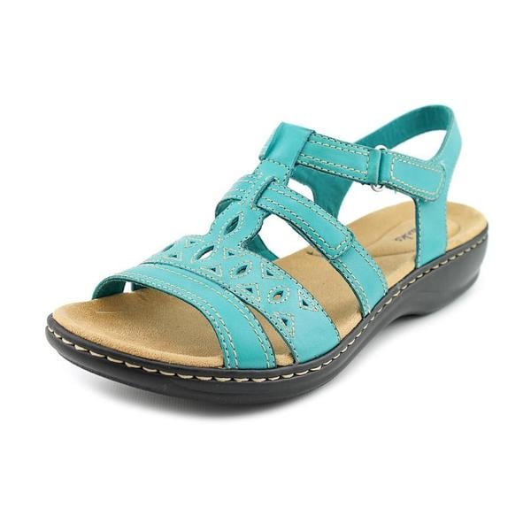 101f253792b Shop Clarks Women s  Leisa Apple Q  Leather Sandals - Free Shipping ...