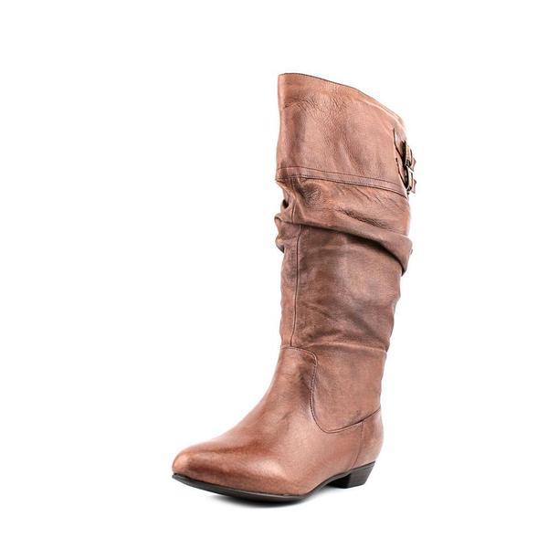 10e9b5b0df2 Shop Steve Madden Women s  Kadey  Leather Boots - Wide (Size 7 ...