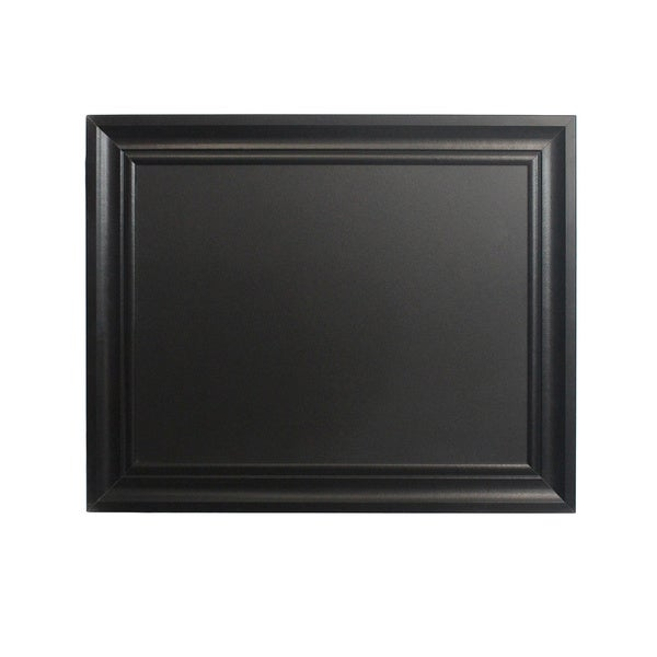 linon chalkboard with black frame 24 inches x 30 inches